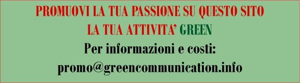 Promuovi la tua attività green